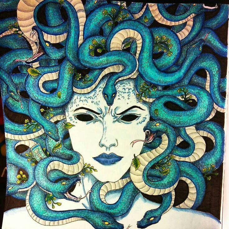 Image by Tracy J. Angulo on Medusa art, Medusa