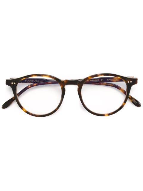66528b232dd3 Pantos Paris round frame glasses