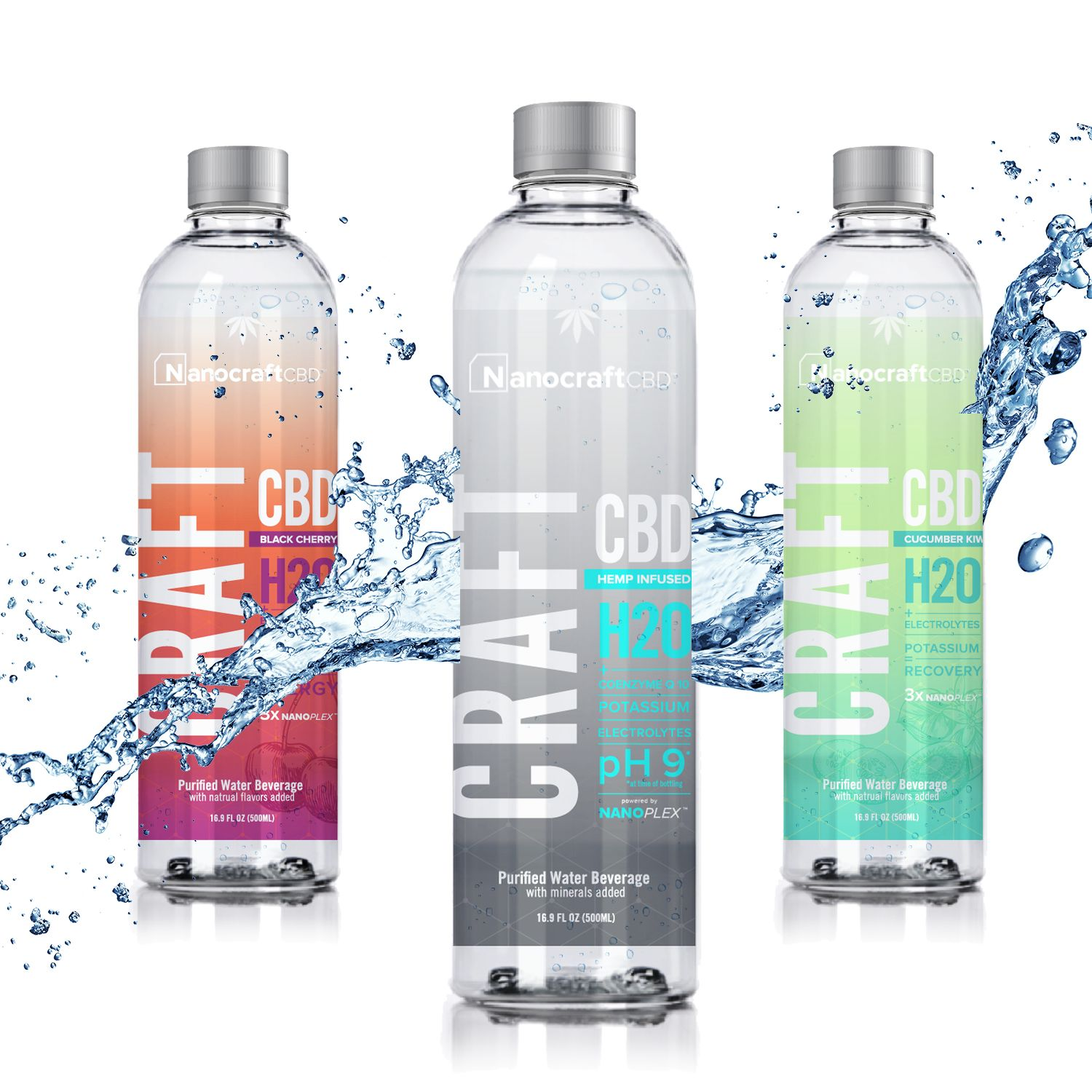 Created by a team of doctors, the unique formulations in Craft H20