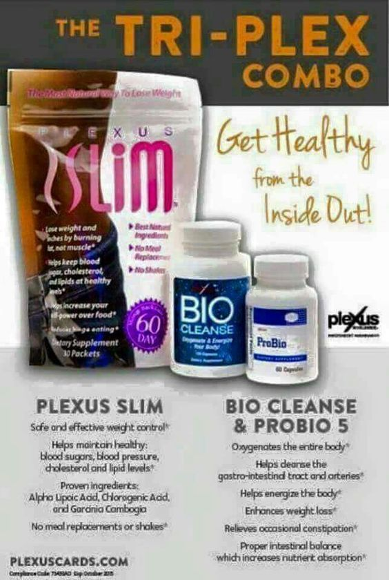 My FAVORITE combo we carry! Get truly healthy from the inside out!  To get started, click here: http://shopmyplexus.com/julieevans/products/tri-plex.html