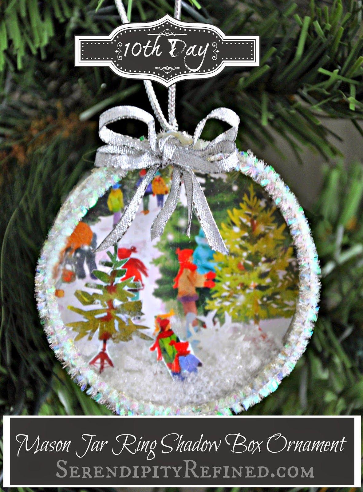 39++ Mason jar lid christmas crafts information