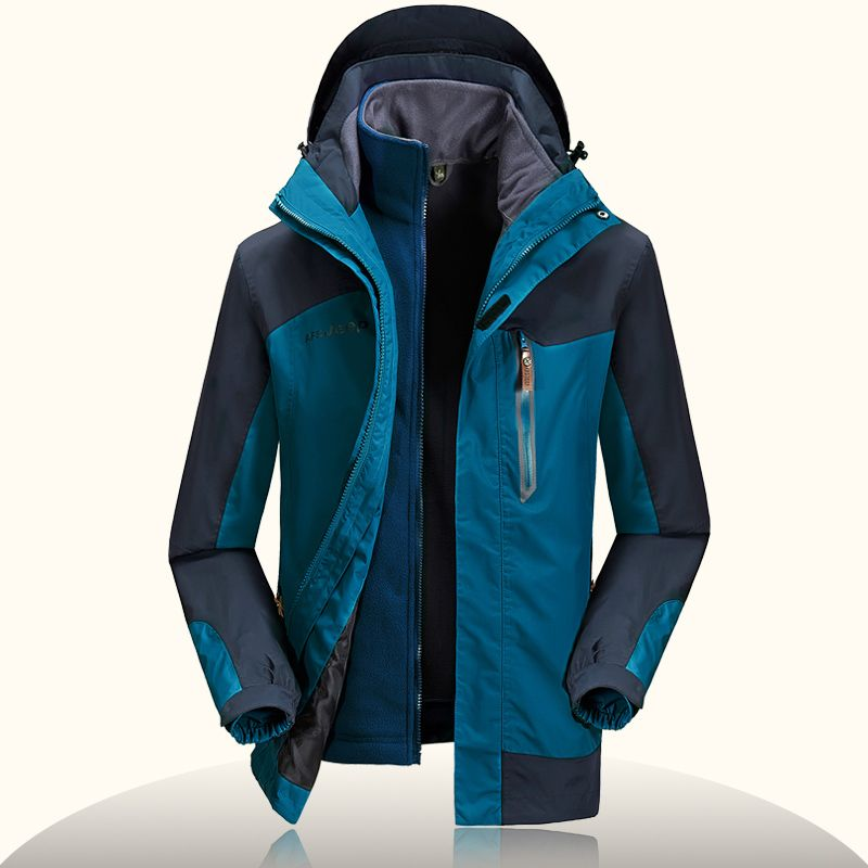 NIANJEEP Brand New Men Rain Jackets Winter Outdoor Sports Coat Ski ...