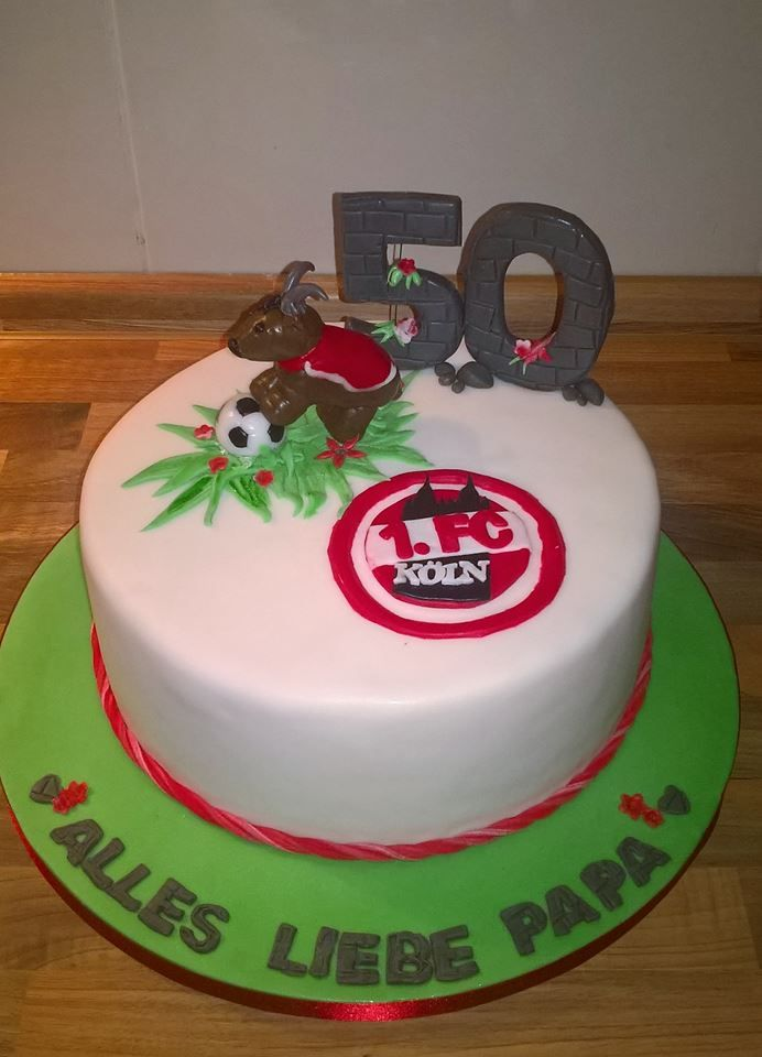Fc Koln Torte Kuchen Pinterest Fondant Und Food