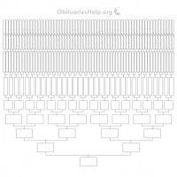 New Free 16ft Family Tree Templates Chart 12 Generations