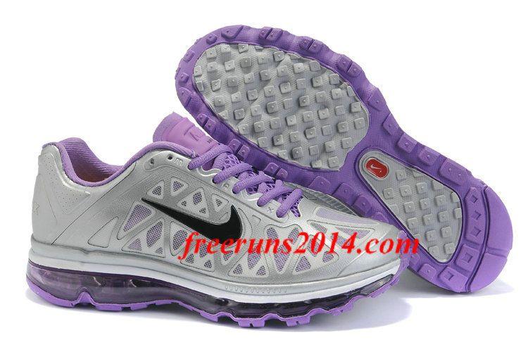 434875 057 Women Nike Air Max 2011 Met Silver Purple