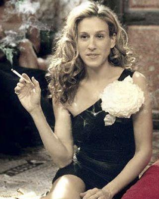 618981c43e5 Carrie Bradshaw  Always fabulous. minus the cigarette
