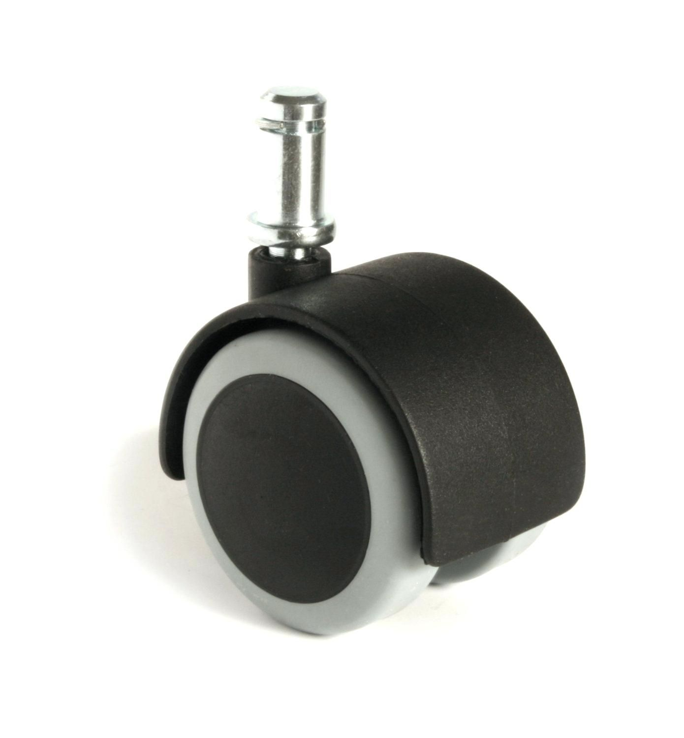 Polyurethane Office Chair Caster Wheels For Hardwood Floors
