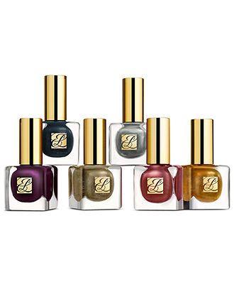 Estée Lauder Pure Color Long Lasting Nail Lacquer - Tom Pecheux's Metal Mania BUY NOW! #macys #beauty #color