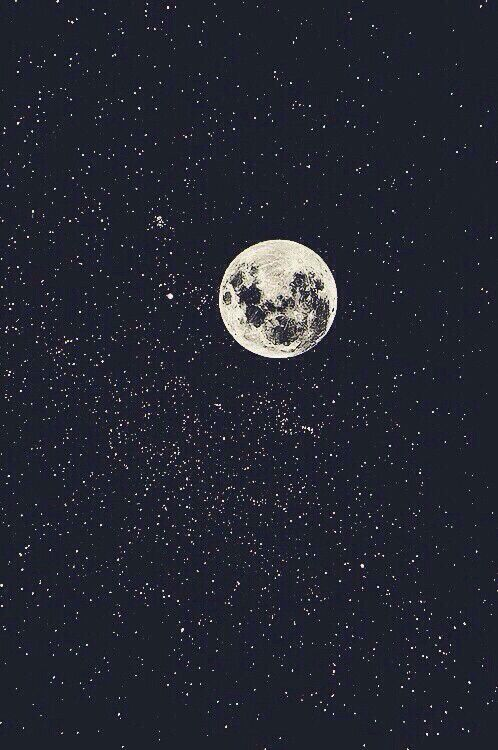 Background Black Dark Favorites Galaxy Iphone Moon Moon Light Stars Universe Wallpaper White Shine For Y Good Night Moon Beautiful Moon Night Skies