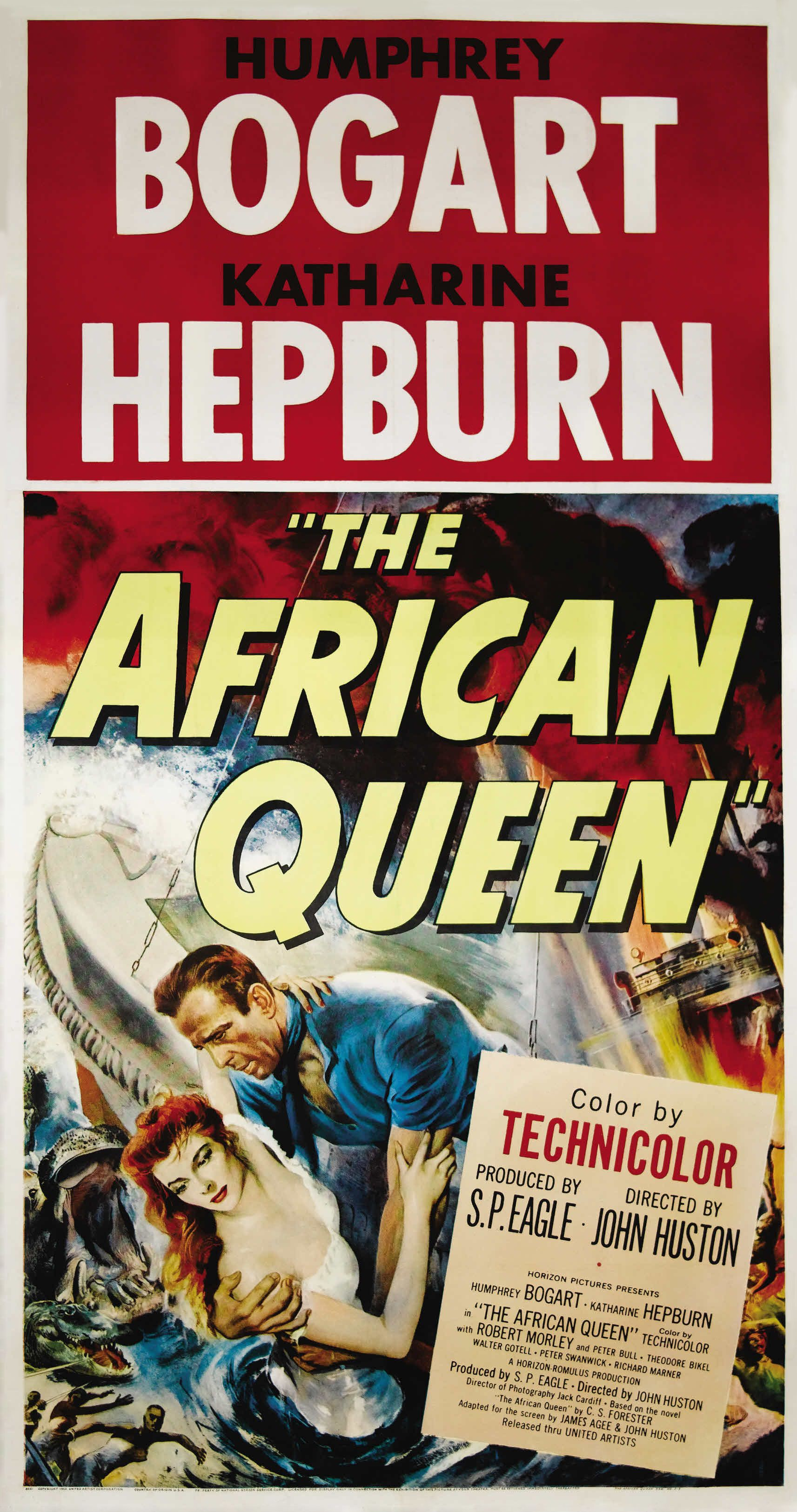 Image result for the african queen 1951