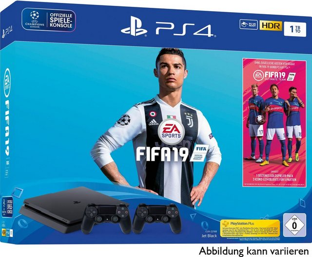 Playstation 4 Slim Ps4 Slim 1tb Bundle Inkl Fifa 19 2 Controller In 2020 Fifa Playstation Konsole