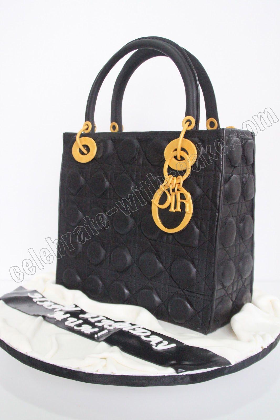 ddf47d2eaff89 christian dior cake purses or bags   Celebrate with Cake!   Purse ...