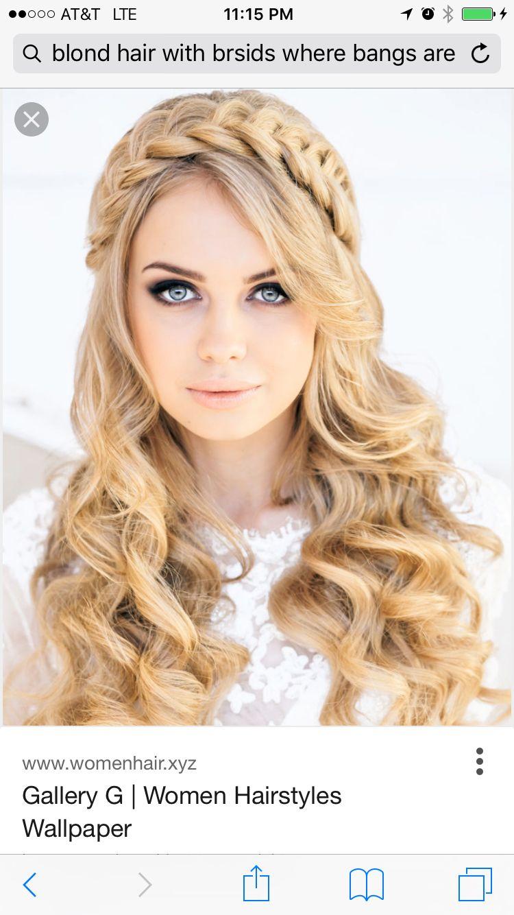 Beautiful braid blonde hair donut care pinterest beautiful
