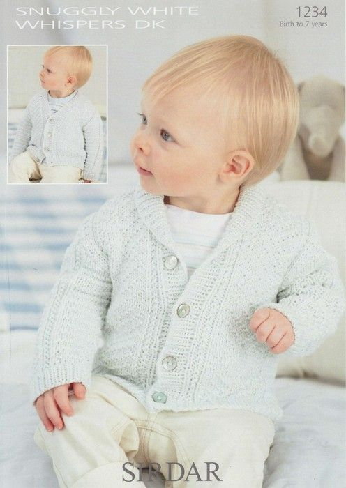 Cute little cardi. Sirdar--Cardigans (birth to 7 years) | Knitting ...