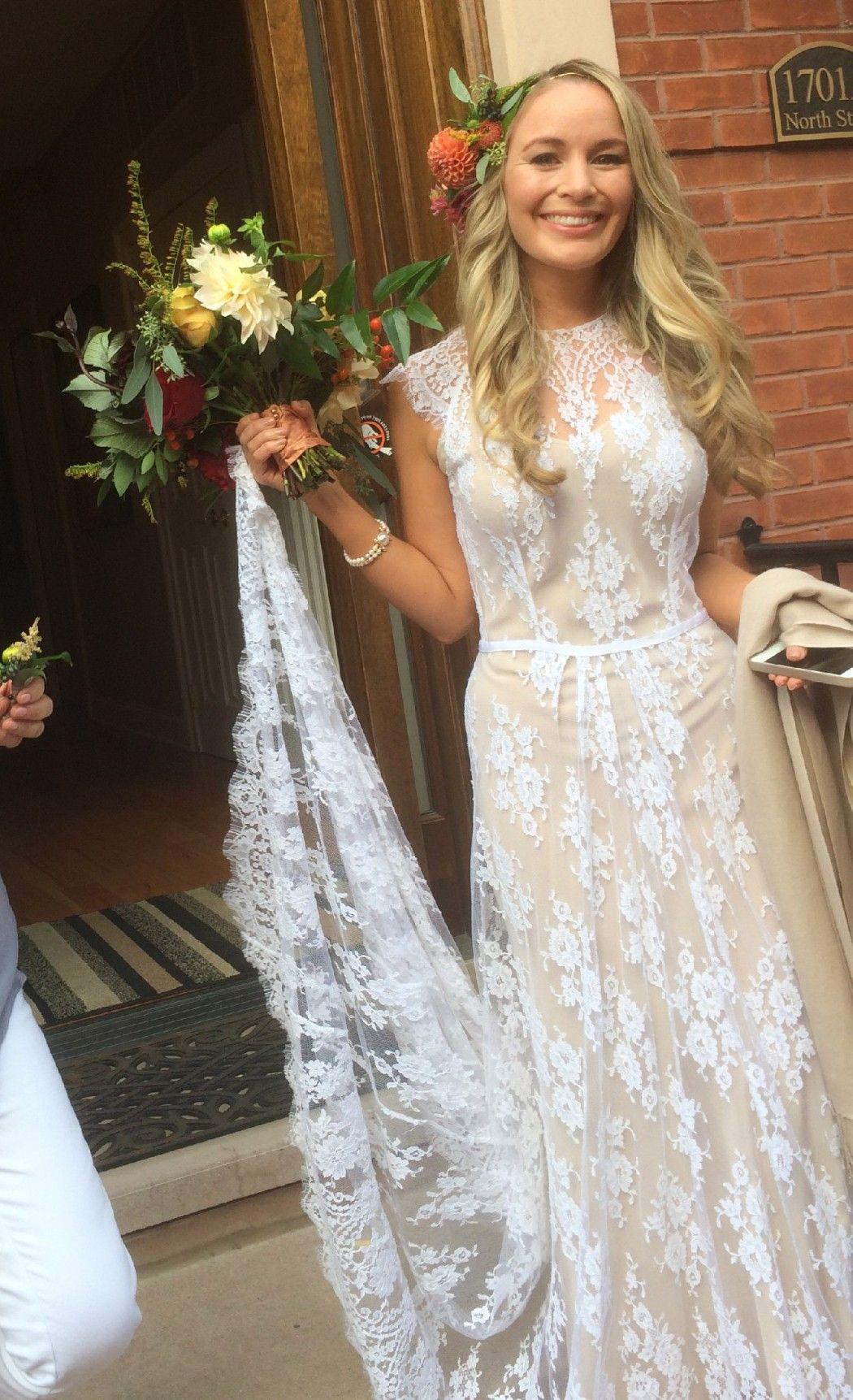 Custom made wedding dress  Rue De Seine Ivy Gown Size  Wedding Dress  Custom wedding dress
