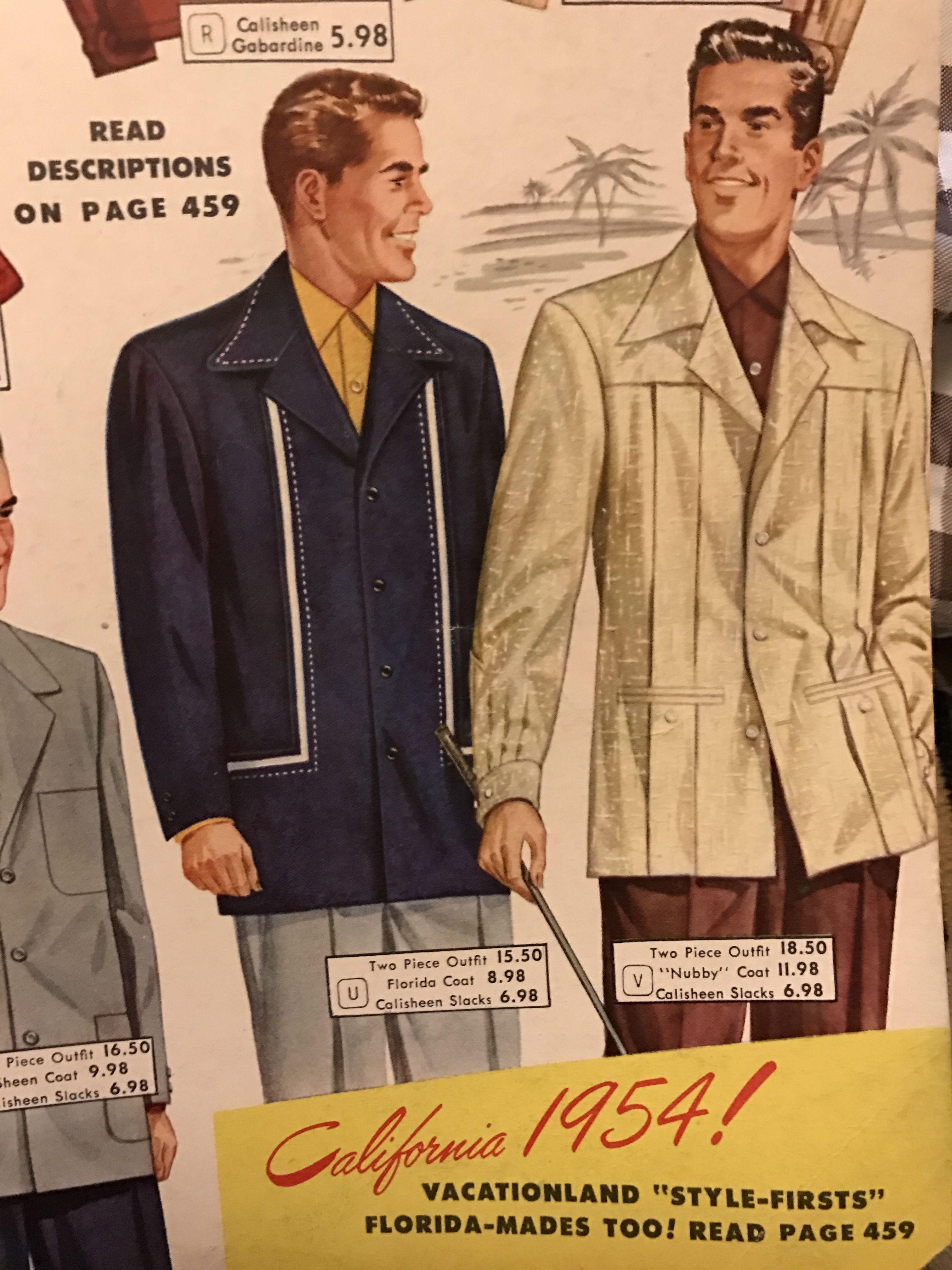 Aldens Catalog 1954 With Images Vintage Clothing Men Vintage