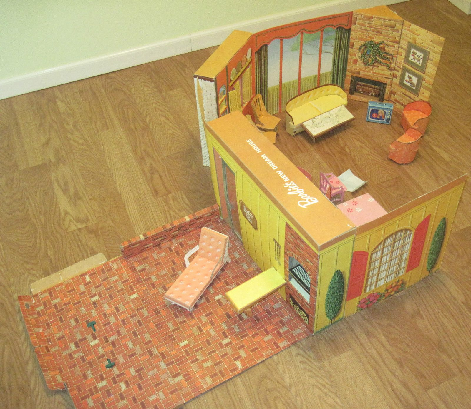 Barbie S Dream House 1964 Barbie Doll House Barbie House Barbie Dream House