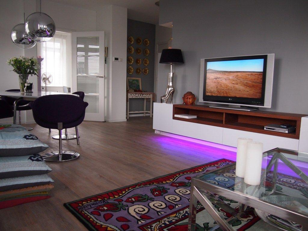 Interior project amsterdam zuid penthouse livingroom deco