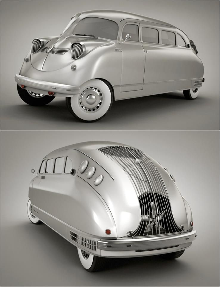 1936 Stout Scarab (US) designed by William Bushnell Stout, they ...