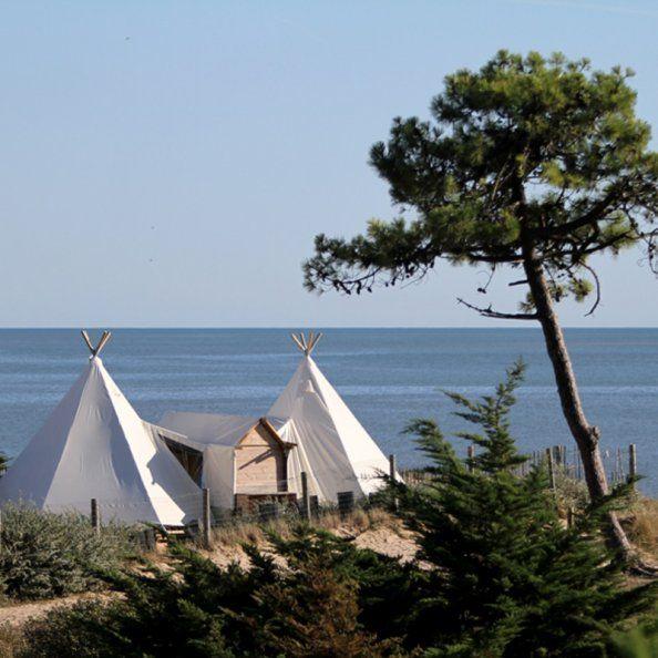Location camping vendée camping en tipi, camping piscine tourisme