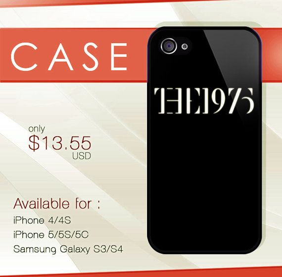 The1975 hard plastic available for iphone 4/4s5/5s/5c by deodoran, $13.99