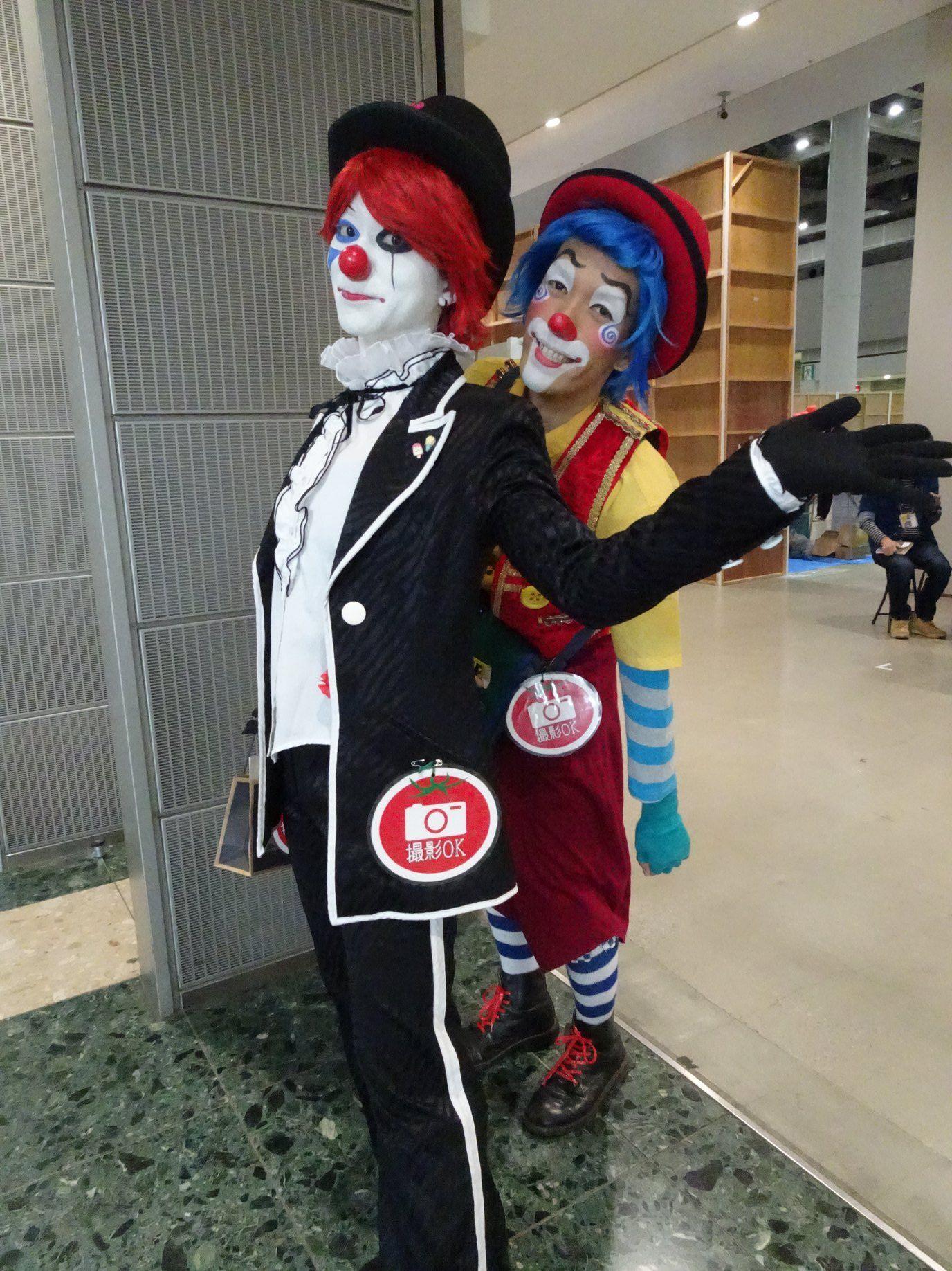 Clowns Picture From Hirotaka Sasako Facebook Japan Clown Photograph Cute Clown Clown Cute
