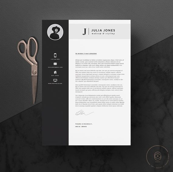Professional Resume Template Cover Letter Icon Set For Microsoft Word 4 Page Pack Professional Cv Instant Download The Noir Modele De Cv Professionnel Cv Professionnel Modele Cv