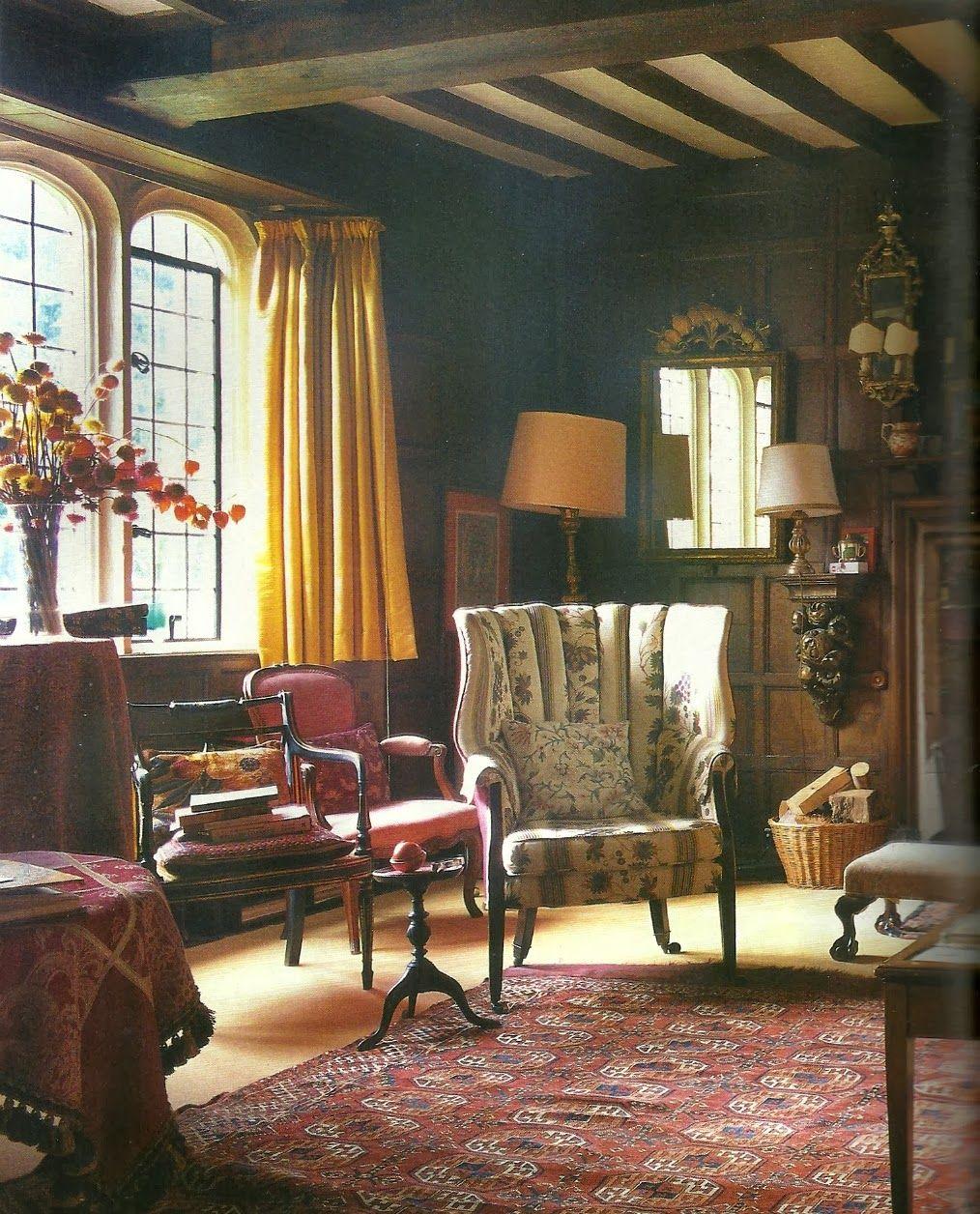 Ottoline Divine Return To Garsington English Cottage Interiors Cottage Interiors English Decor