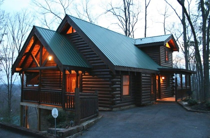 Gatlinburg Cabin Rental   Tranquility Point...a Luxury Log Cabin In  Gatlinburg,