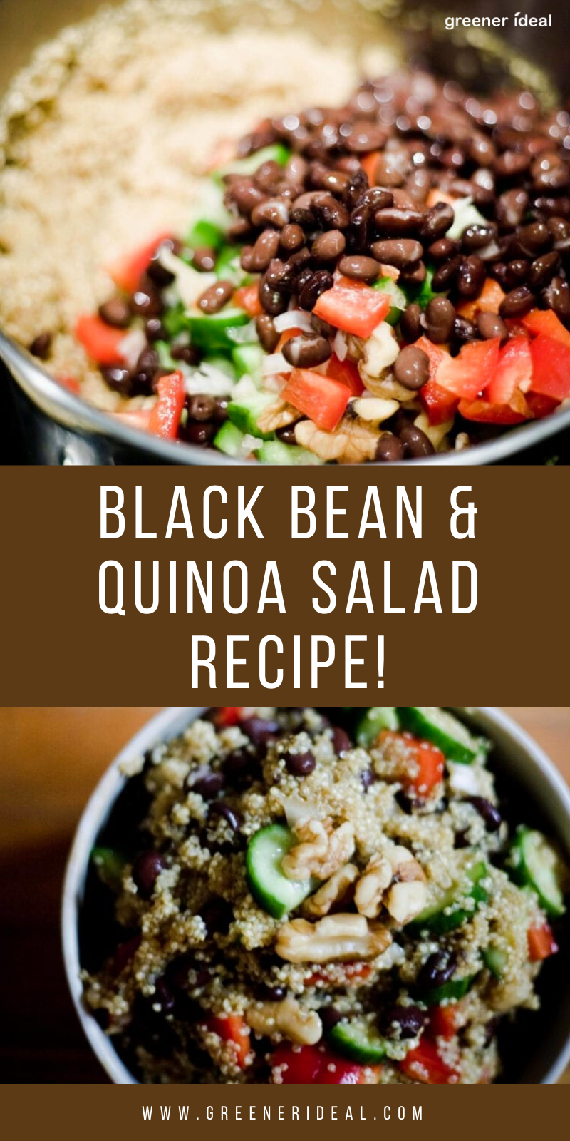 Black Bean Quinoa Salad Recipe Recipe In 2020 Clean Eating Recipes For Dinner Vegan Recipes Healthy Plant Based Recipes Dinner