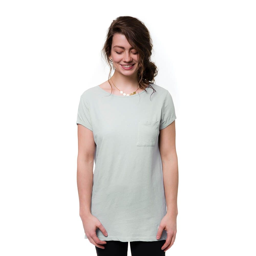 bleed clothing 1233f linen t-shirt light grey studio 01