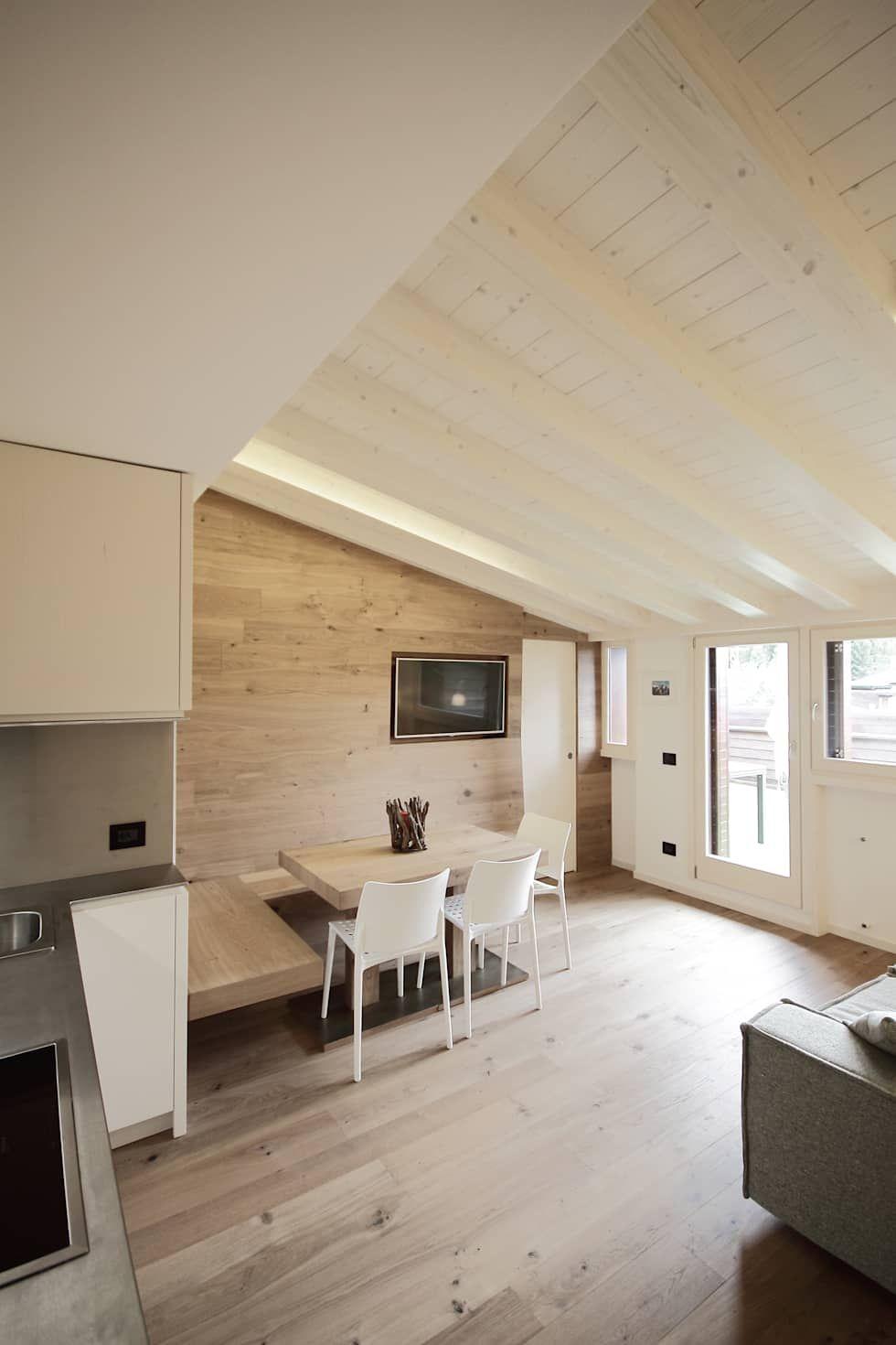 Progetti sala da pranzo in stile di luigi bello for Architetto per interni