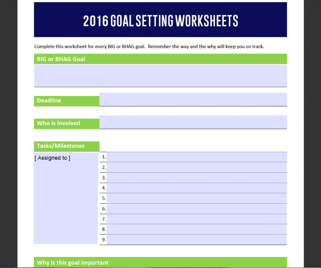 Goal Setting Worksheet2