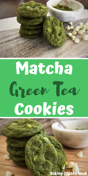 Photo of While this Matcha Green Tea Cookie recipe isn't healthy, it is easy and oh-so de…