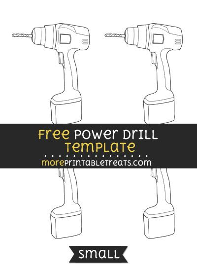 Free Power Drill Template