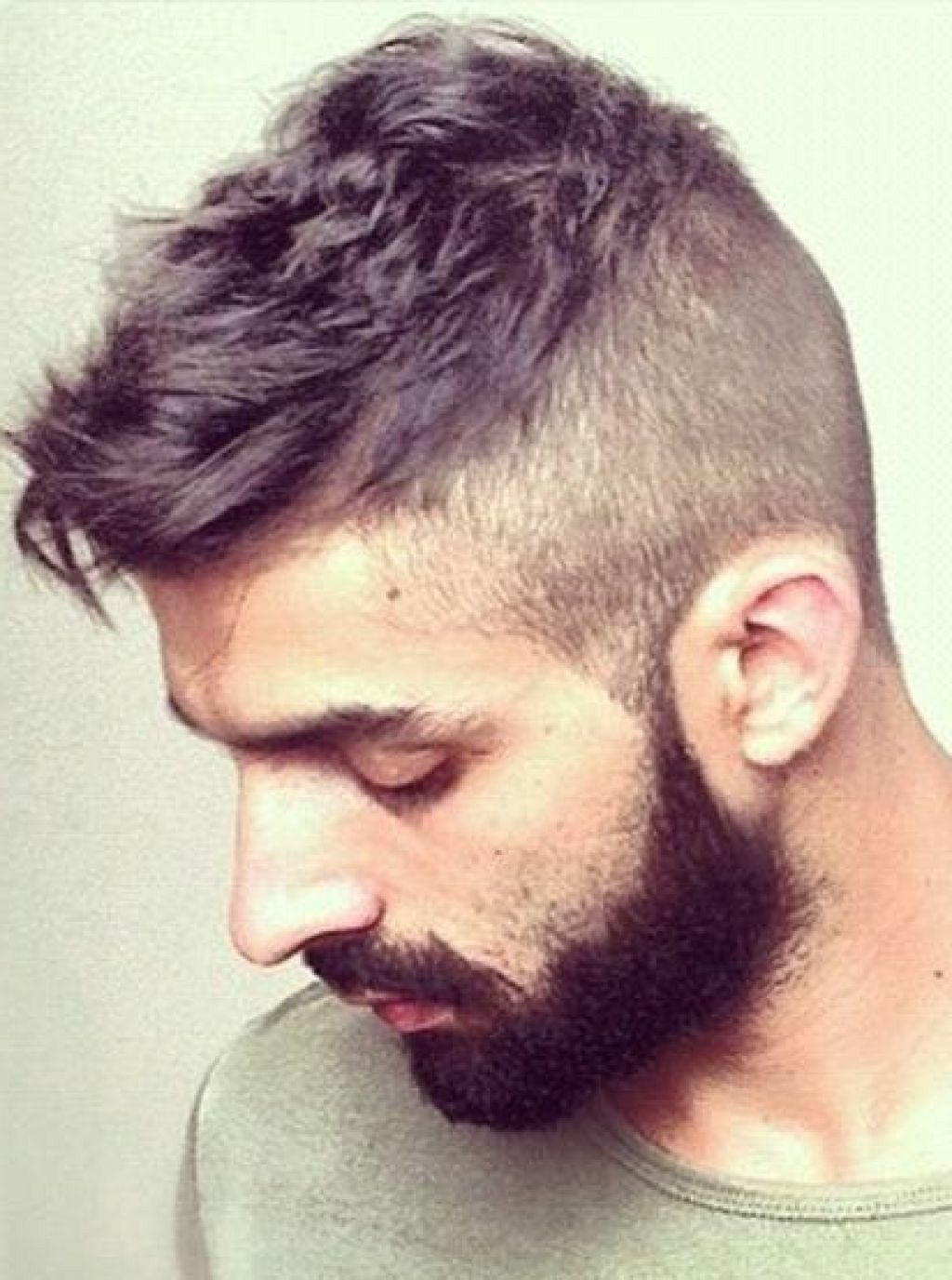 Mens haircut buzzed sides long top undercut u shaved sides  menus hairstyles  pinterest  top mens