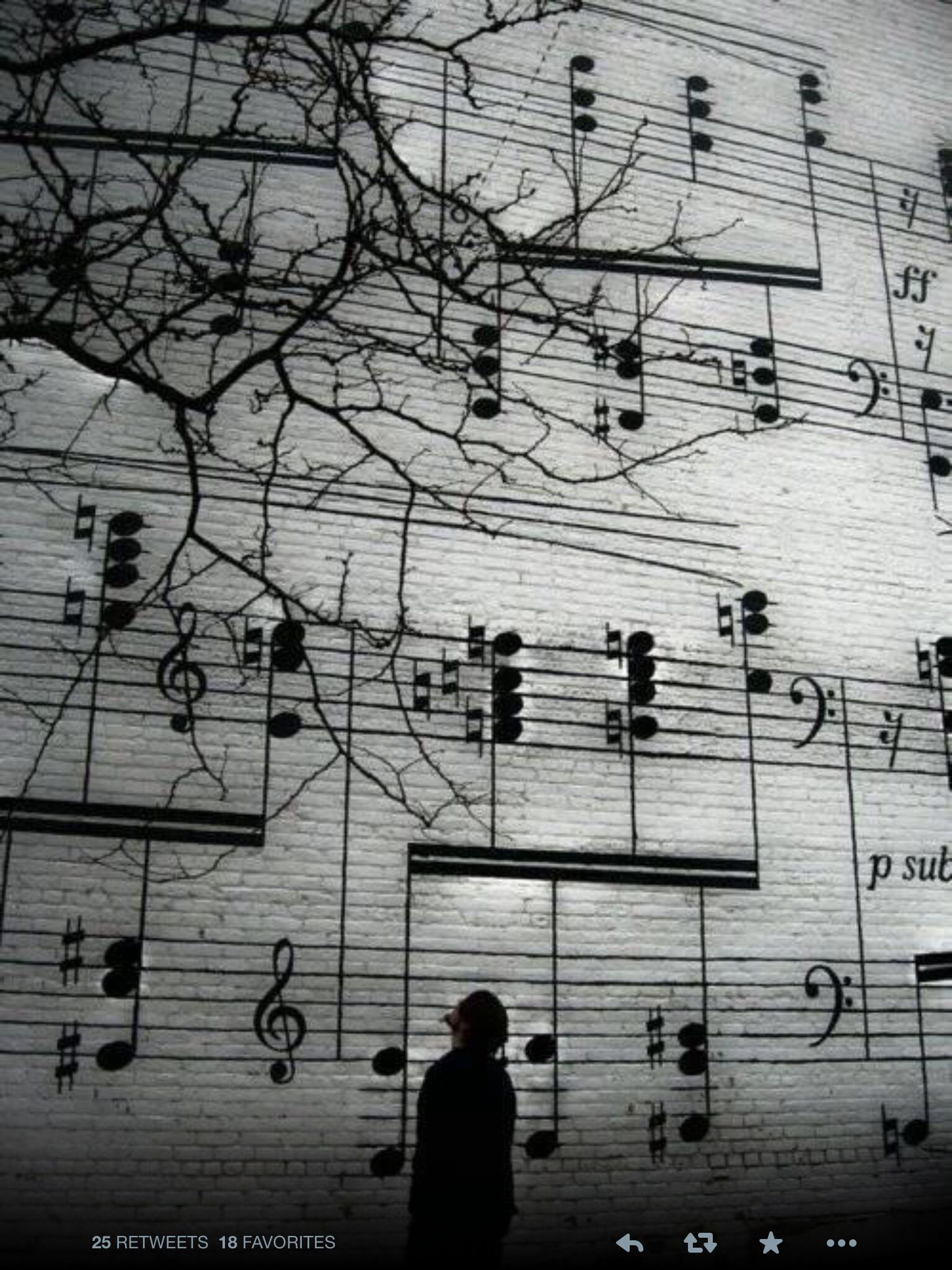 A wall of note ideëen voor muurschildering pinterest note