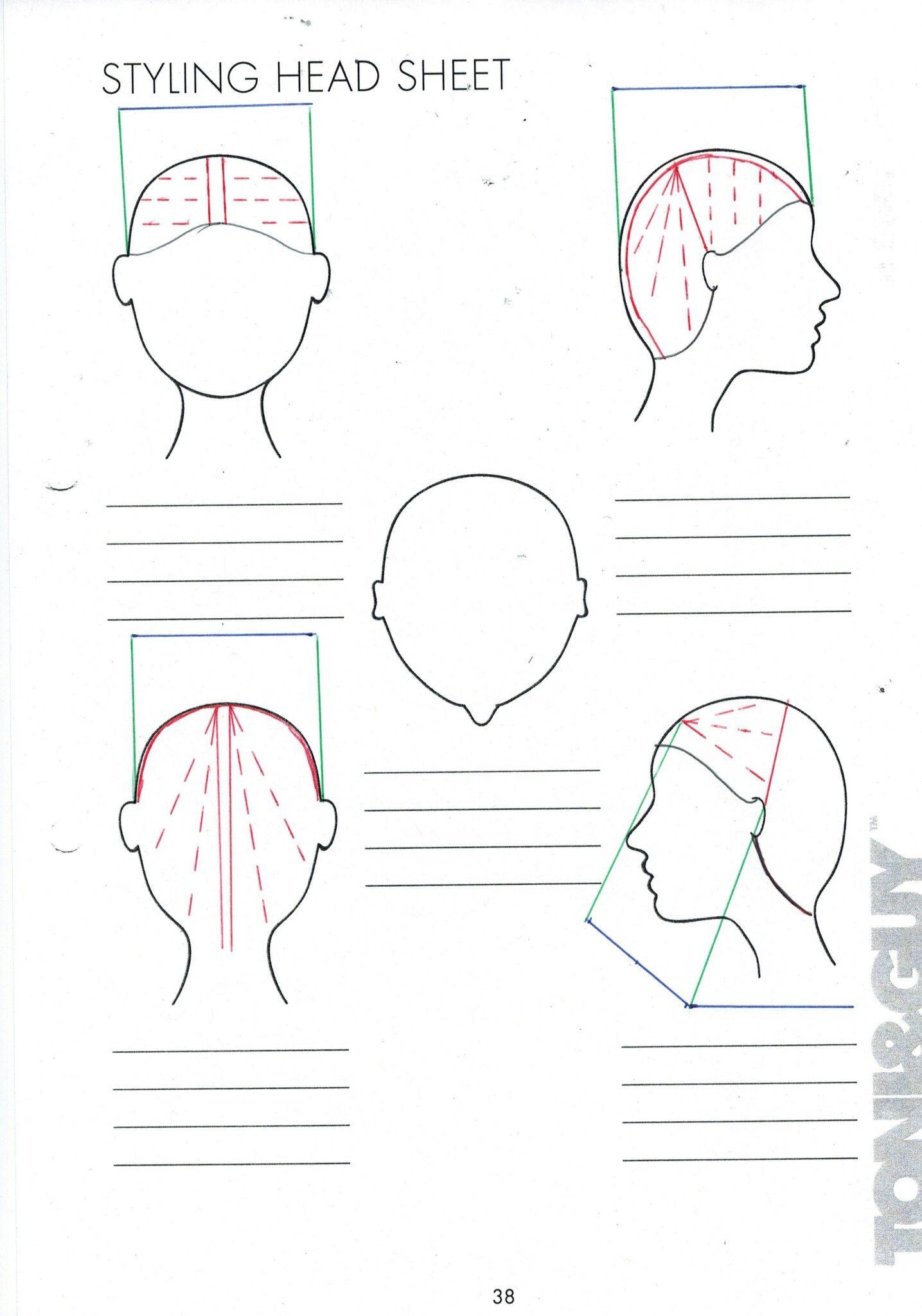 Square Layers  Hair illustration, Hair color tutorial, Diagonal