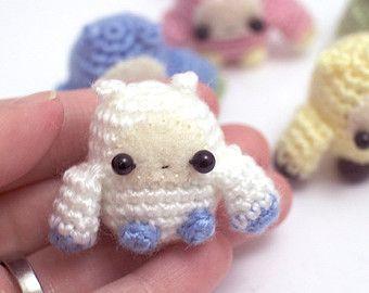 mini monster - miniature crochet amigurumi