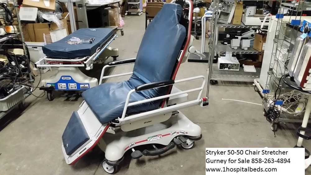 Stryker 5050 Chair Stretcher Gurney For Sale Used Transfer