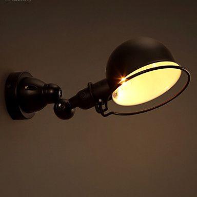 e14 17 * 12cm 10-15㎡the kreative næringer sammenleggbare personlighet retro korridor vegglampe LED-lys 4772817 2016 – kr.1.016