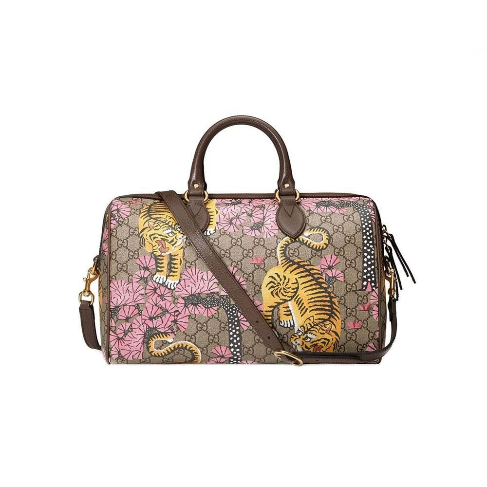 fa56cf68a86 Gucci Bengal Tiger Boston Top Handle Bag-Runway Catalog