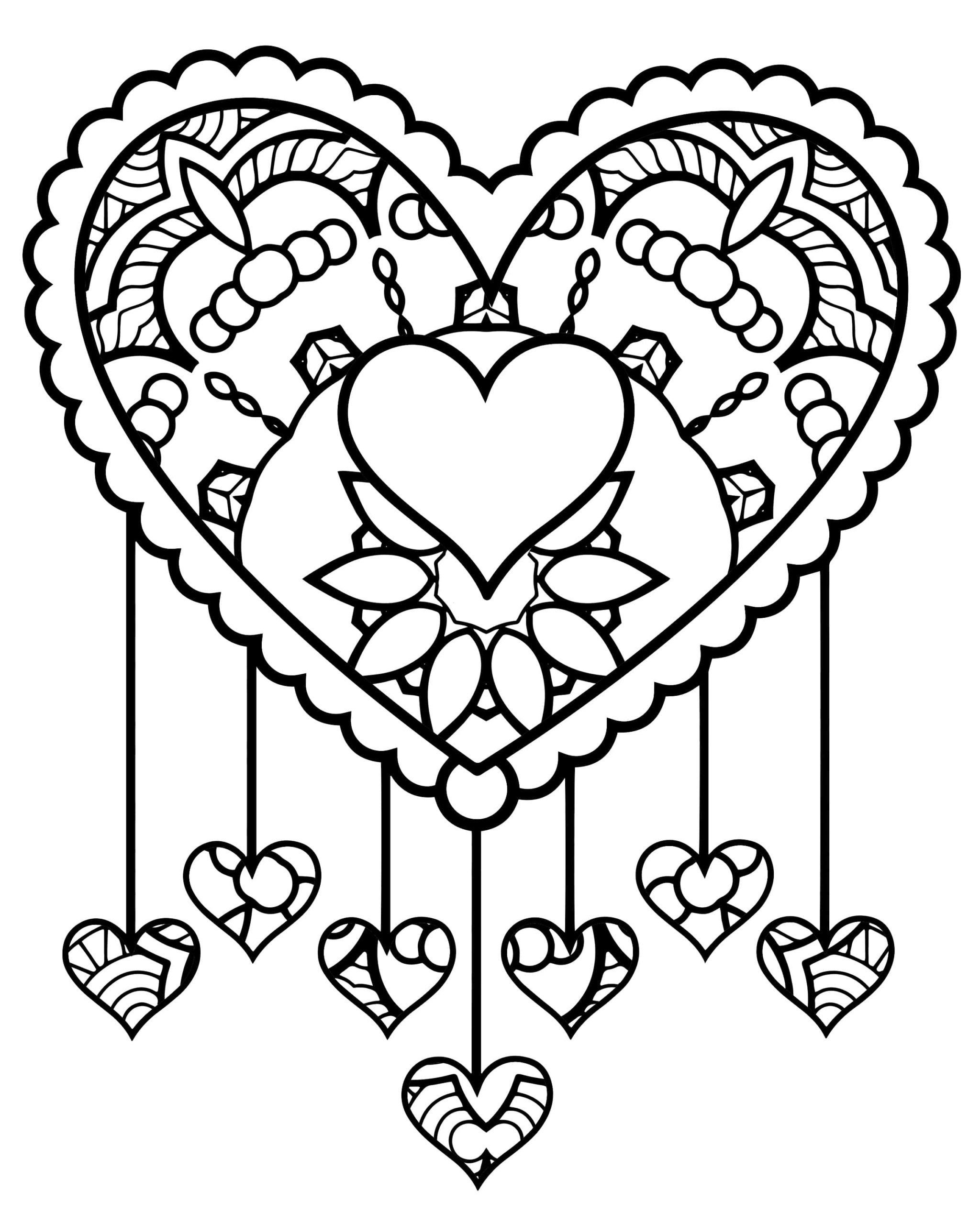 Cute Heart Coloring Pages Top 11 Tremendous Coloring Valentines Day Page Printable Skull Coloring Pages Love Coloring Pages Coloring Pages For Girls