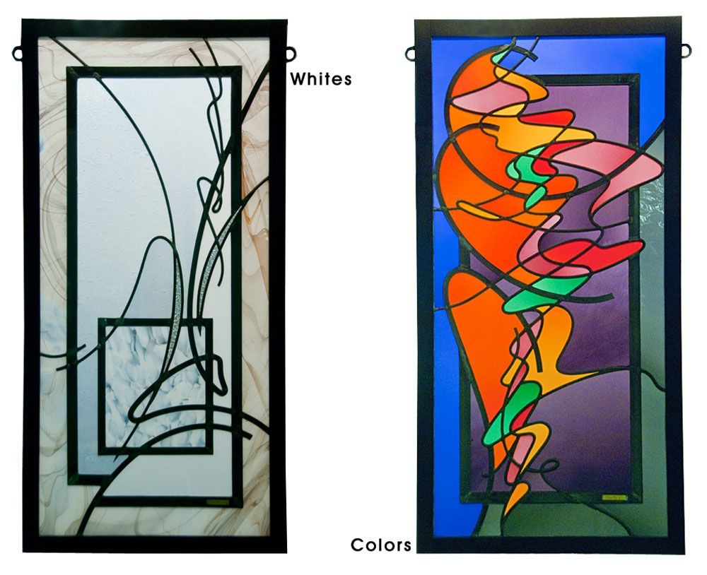 contemporary stained glass windows stained glass glass. Black Bedroom Furniture Sets. Home Design Ideas