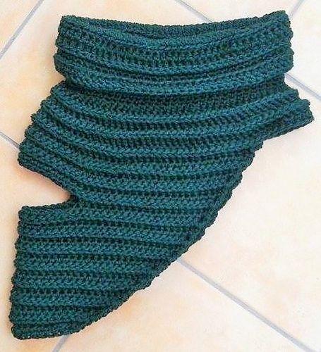 Katniss Everdeen's Poncho   Crochet cowl pattern, Crochet ...