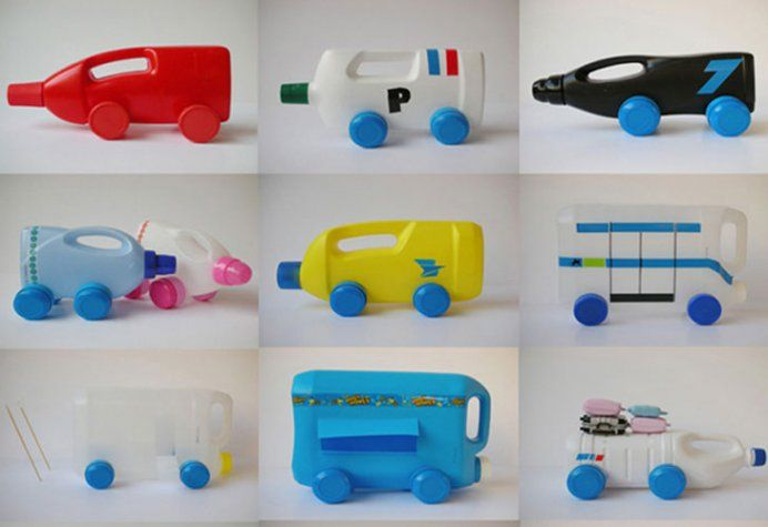 Image result for Toy Tutorials with Recycled Material Handmade toys with a plastic bottle