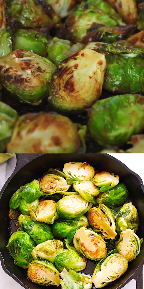 Honey Balsamic Brussels Sprouts images