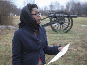 The Cemetery Community settled shortly after the end of the Civil War and was home to freed African Americans, explained Tiffany Momon with Middle Tennessee State University's Center for Historic Preservation.