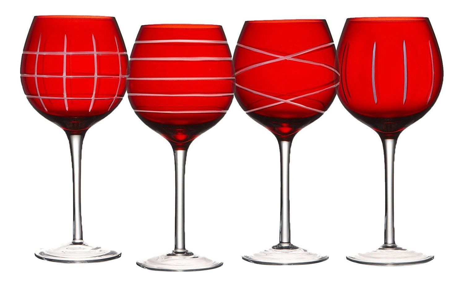 Bold But Classic These Elegant Crystal Goblets Will Add Color And Flair To Your Next Event Each Piece Of Crystal Stem Crystal Stemware Crystal Goblets Goblet