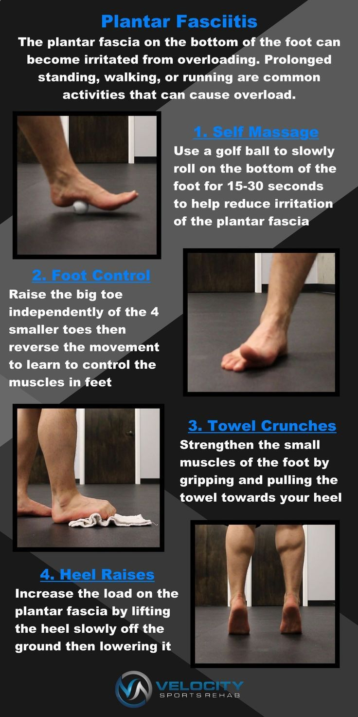 4 exercise that can help with plantar fasciitis natural
